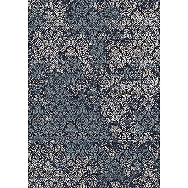 Dynamic Rugs Eclipse Dark Blue Area Rug; 3'11'' x 5'7''