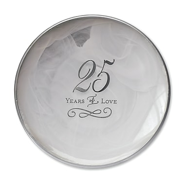 DEMDACO From This Day Forward 25th Anniversary Decorative Plate