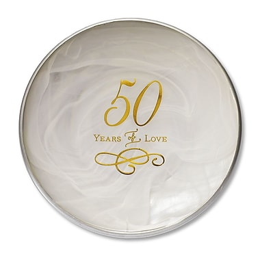DEMDACO From This Day Forward 50th Anniversary Decorative Plate