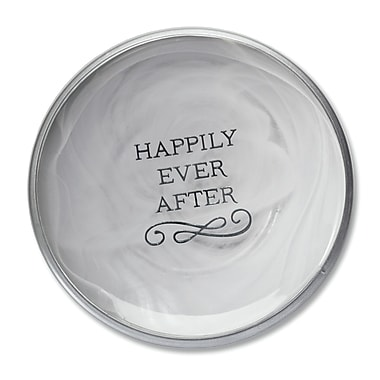 DEMDACO From This Day Forward Happily Ever After Decorative Plate