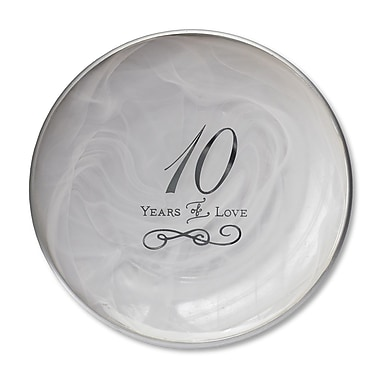 DEMDACO From This Day Forward 10th Anniversary Decorative Plate