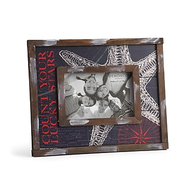 DEMDACO Dockside Count Your Lucky Stars Picture Frame