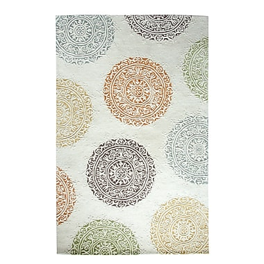 Dynamic Rugs Allure Ivory Area Rug; 5' x 8'