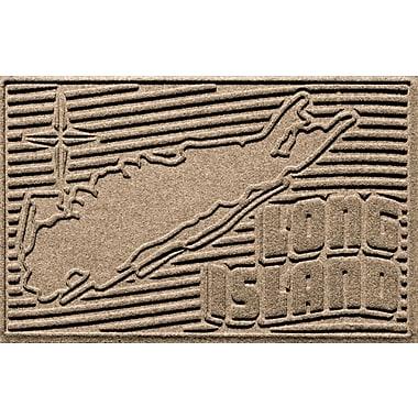 Bungalow Flooring Aqua Shield Long Island Doormat; Camel