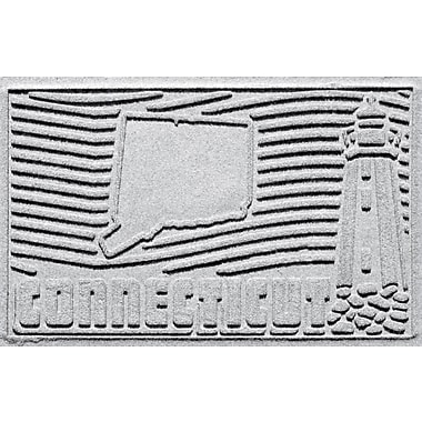 Bungalow Flooring Aqua Shield Connecticut Doormat; White