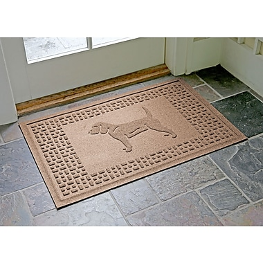 Bungalow Flooring Aqua Shield Beagle Doormat; Medium Brown