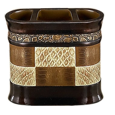 Sweet Home Collection Zambia Toothbrush Holder
