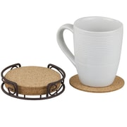 Sweet Home Collection Coasters w/ Container (Set of 6)