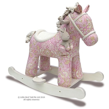 Little Bird Told Me Pixie and Fluff Rocking Horse