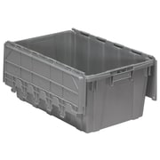 Akro Mils Attached Lid Container; 12.5'' H x 17'' W x 27'' D