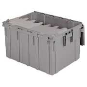 Akro Mils Attached Lid Container; 15.5'' H x 21'' W x 28'' D