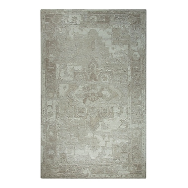 Dynamic Rugs Avalon Taupe Area Rug; 8' x 11'