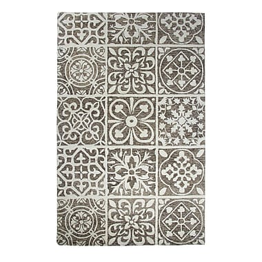 Dynamic Rugs Casual Charcoal Area Rug; 3'6'' x 5'6''