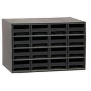 Akro Mils 19-Series 16 Drawer Storage Chest; Black