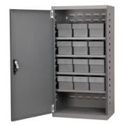 Akro Mils 38''H x 19.25''W x 13.25''D 12 Drawer Storage Cabinet; Gray
