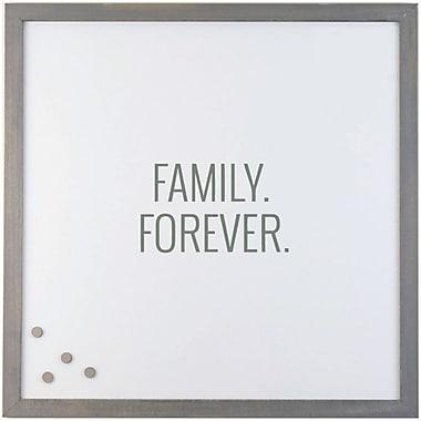 Petal Lane Family Forever Magnetic Memo Board; 2' H x 2' W