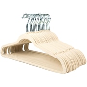 Sweet Home Collection Ultra Thin Suit Non-Slip Hanger (Set of 25); Ivory