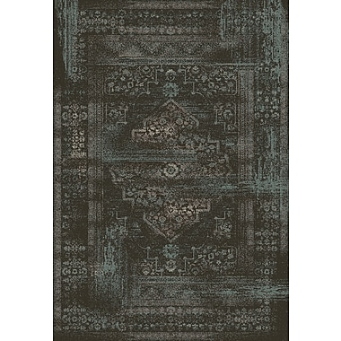 Dynamic Rugs Utopia Antique Charcoal Area Rug; Rectangle 7'10'' x 10'10''
