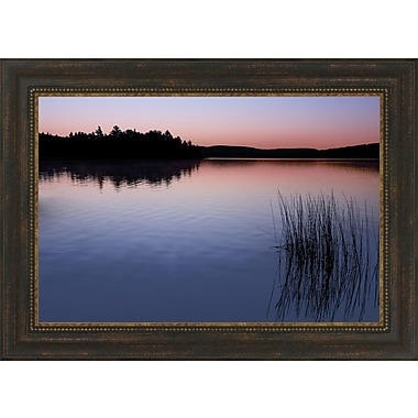 Tangletown Fine Art Breaking Dawn by Daniel J. Bellyk Framed Photographic Print