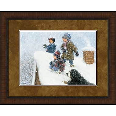 MidwestArtFrame Rooftop Warriors by Robert Duncan Framed Photographic Print