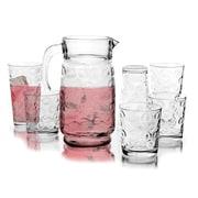 Circle Glass 17-Piece Beverage Serving Set