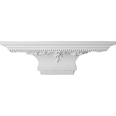 Ekena Millwork Victorian 7 3/8''H x 24''W x 9 1/8''D Shelf
