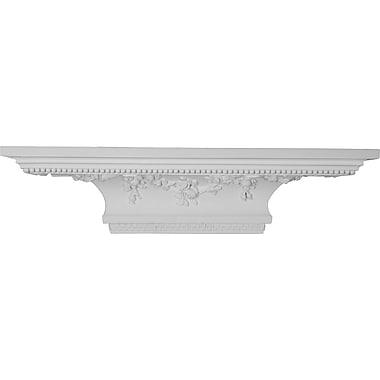 Ekena Millwork Victorian 7 3/8''H x 30''W x 9 1/8''D Shelf