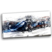 DesignArt Speedster Car Graphic Art on Wrapped Canvas