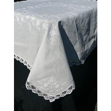 Fino Lino Filet Lace Topper Set