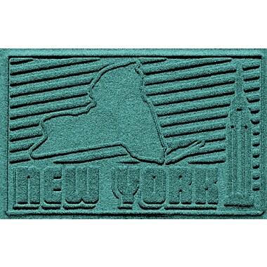 Bungalow Flooring Aqua Shield New York Doormat; Aquamarine