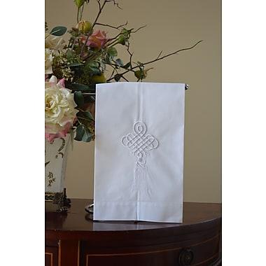 Fino Lino Tassel Embroidery Fingertip Towel