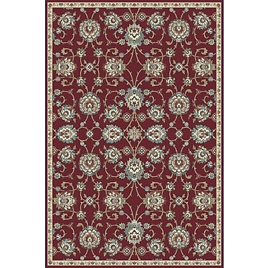 Dynamic Rugs Melody Red Area Rug; 3'11'' x 5'3''