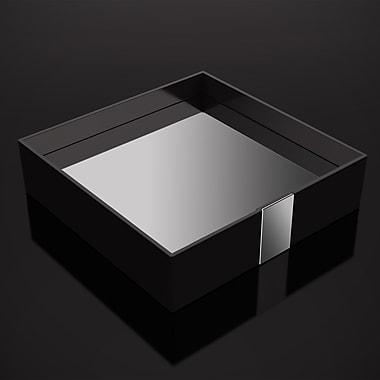 ZEN Design One Bathroom Accessory Tray; Black