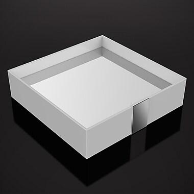 ZEN Design One Bathroom Accessory Tray; White
