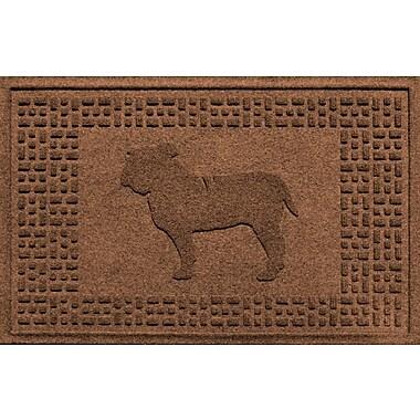 Bungalow Flooring Aqua Shield Bulldog Doormat; Dark Brown