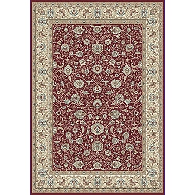 Dynamic Rugs Melody Red Area Rug; Runner 2'2'' x 7'10''