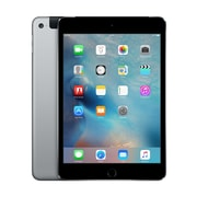 Apple - iPad mini 4, 7,9 po, puce A8, Wi-Fi + Cellular, 128 Go, gris cosmique