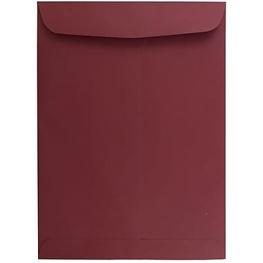 JAM Paper® 9 x 12 Open End Catalog Envelopes, Dark Red, 100/pack (31287532)