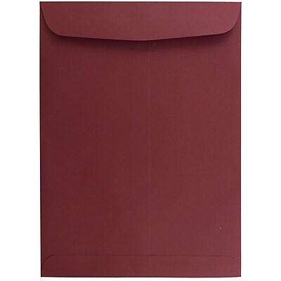 JAM Paper® 9 x 12 Open End Catalog Envelopes, Dark Red, 100/pack (31287532)