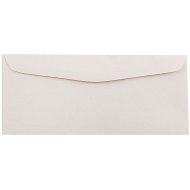 JAM Paper® #10 Business Envelopes, 4 1/8 x 9 1/2, Rose Quartz Recycled, 50/pack (57132I)