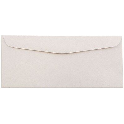 JAM Paper® #10 Business Envelopes, 4 1/8 x 9 1/2, Rose Quartz Recycled, 500/box (57132H)