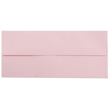 JAM Paper® #10 Business Envelopes, 4 1/8 x 9 1/2, Baby Pink, 25/pack (2155777)