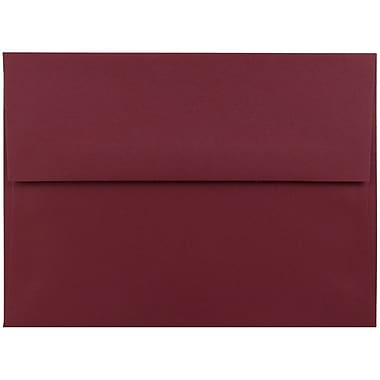 JAM Paper® A6 Invitation Envelopes, 4.75 x 6.5, Dark Red, 1000/carton (157458B)
