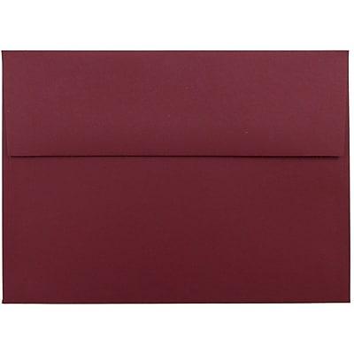 JAM Paper® A7 Invitation Envelopes, 5.25 x 7.25, Dark Red, 1000/carton (1166B)