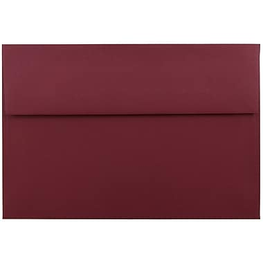 JAM Paper® A9 Invitation Envelopes, 5.75 x 8.75, Dark Red, 1000/carton (31511321B)