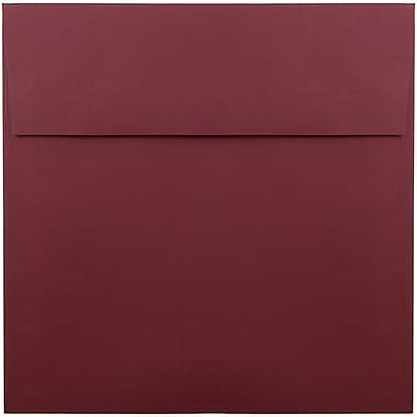JAM Paper® 8.5 x 8.5 Square Envelopes, Dark Red, 1000/carton (31511323B)