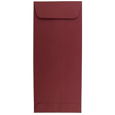 JAM Paper® #10 Policy Envelopes, 4 1/8 x 9 1/2, Dark Red, 500/box (31511300H)