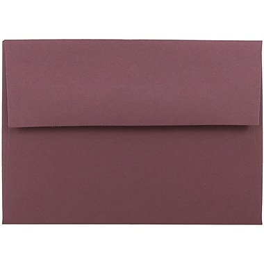 JAM Paper® 4bar A1 Envelopes, 3 5/8 x 5 1/8, Burgundy, 25/pack (36395836)