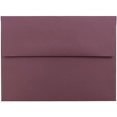 JAM Paper® A6 Invitation Envelopes, 4.75 x 6.5, Burgundy, 50/pack (36395843I)
