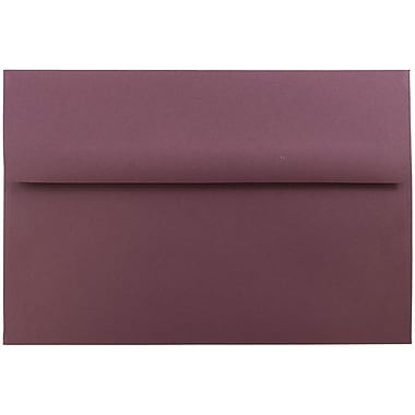 JAM Paper® A8 Invitation Envelopes, 5.5 x 8.125, Burgundy, 1000/carton (36395845B)